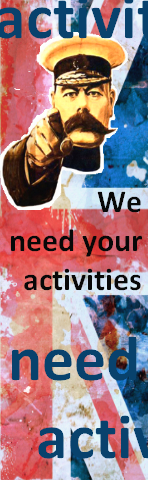 we need your activities